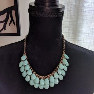 Teal Teardrop Necklace - NEW!!